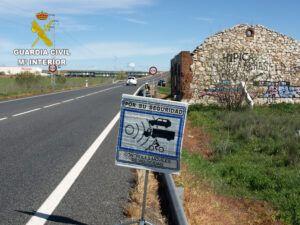 La Guardia Civil investiga a una persona que conducía un turismo a 226 km/h