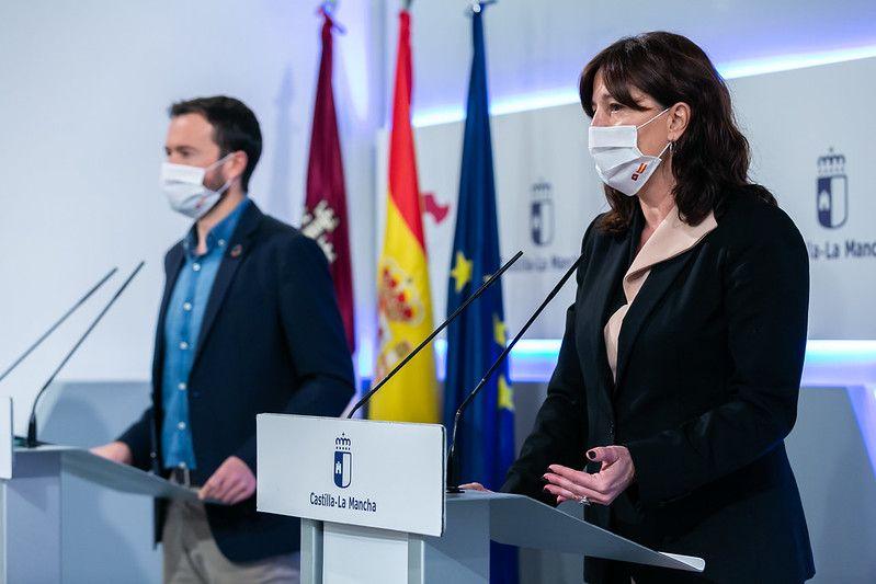El Gobierno regional invierte casi dos millones de euros en reparar los daños del incendio en el Hospital de Hellín cuyas obras entran en su fase final