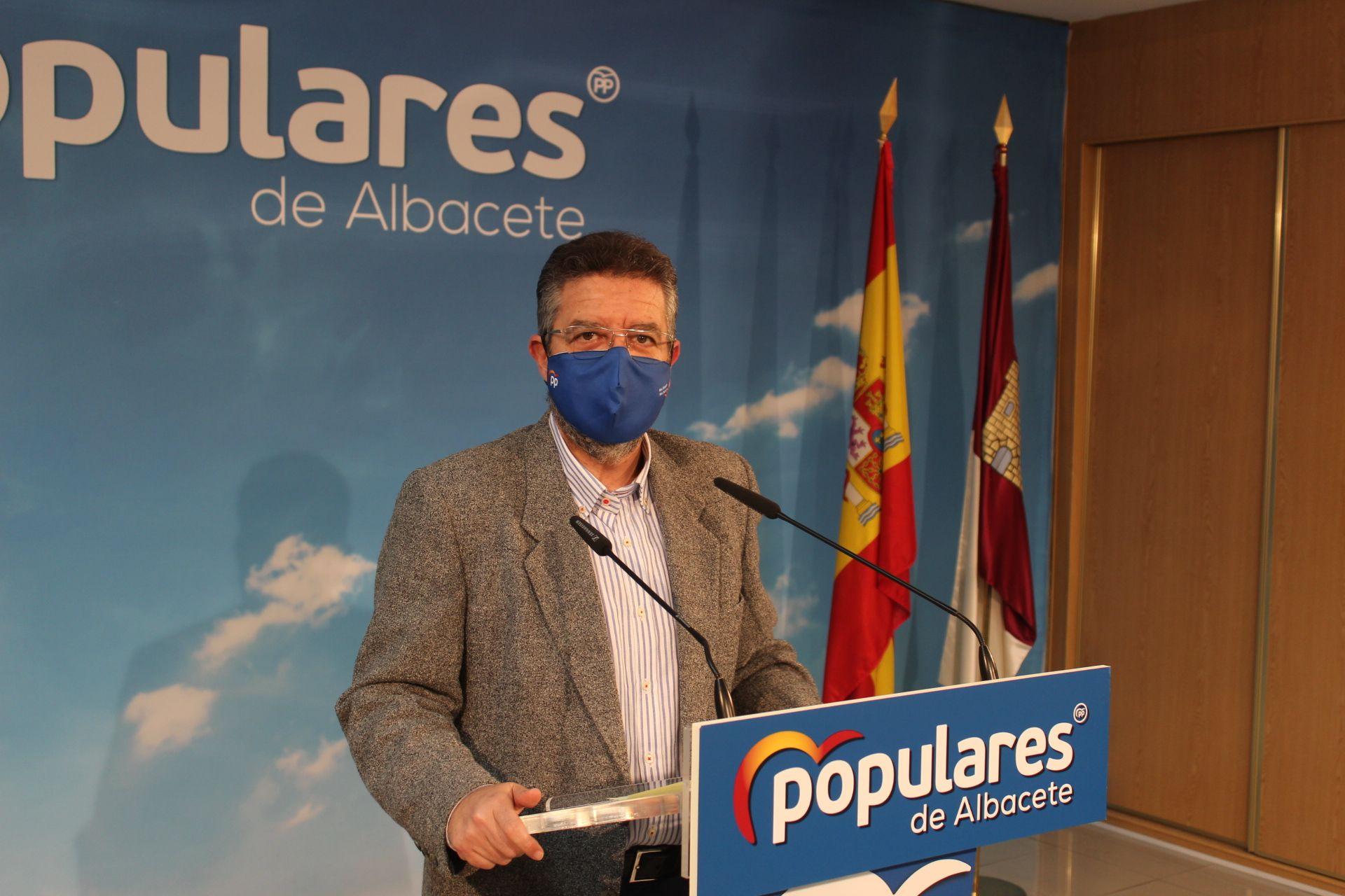 Juan Antonio Moreno espera que el PSOE apruebe unas enmiendas a los Presupuestos que corrigen los errores de Page durante la gestión de la pandemia