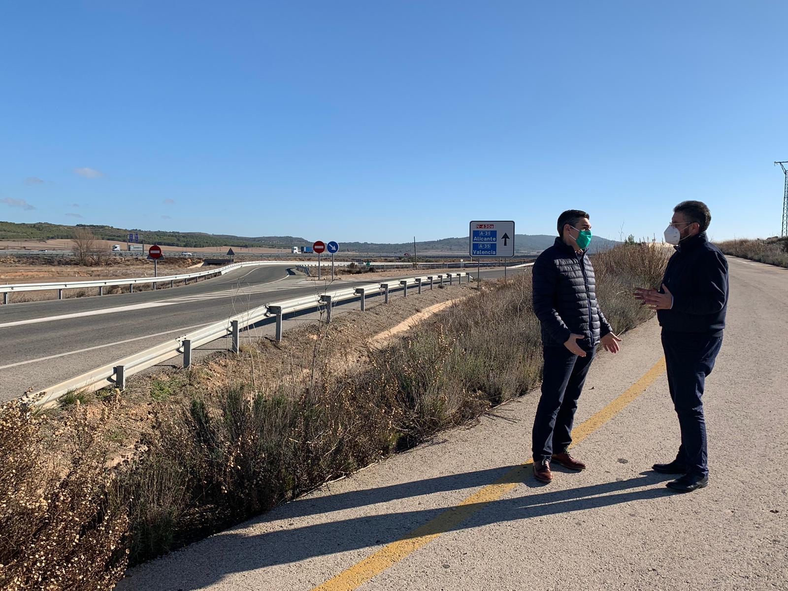 Juan Antonio Moreno reivindica la inversión para una plataforma logística en la comarca de Almansa, a través de las enmiendas a los Presupuestos regionales