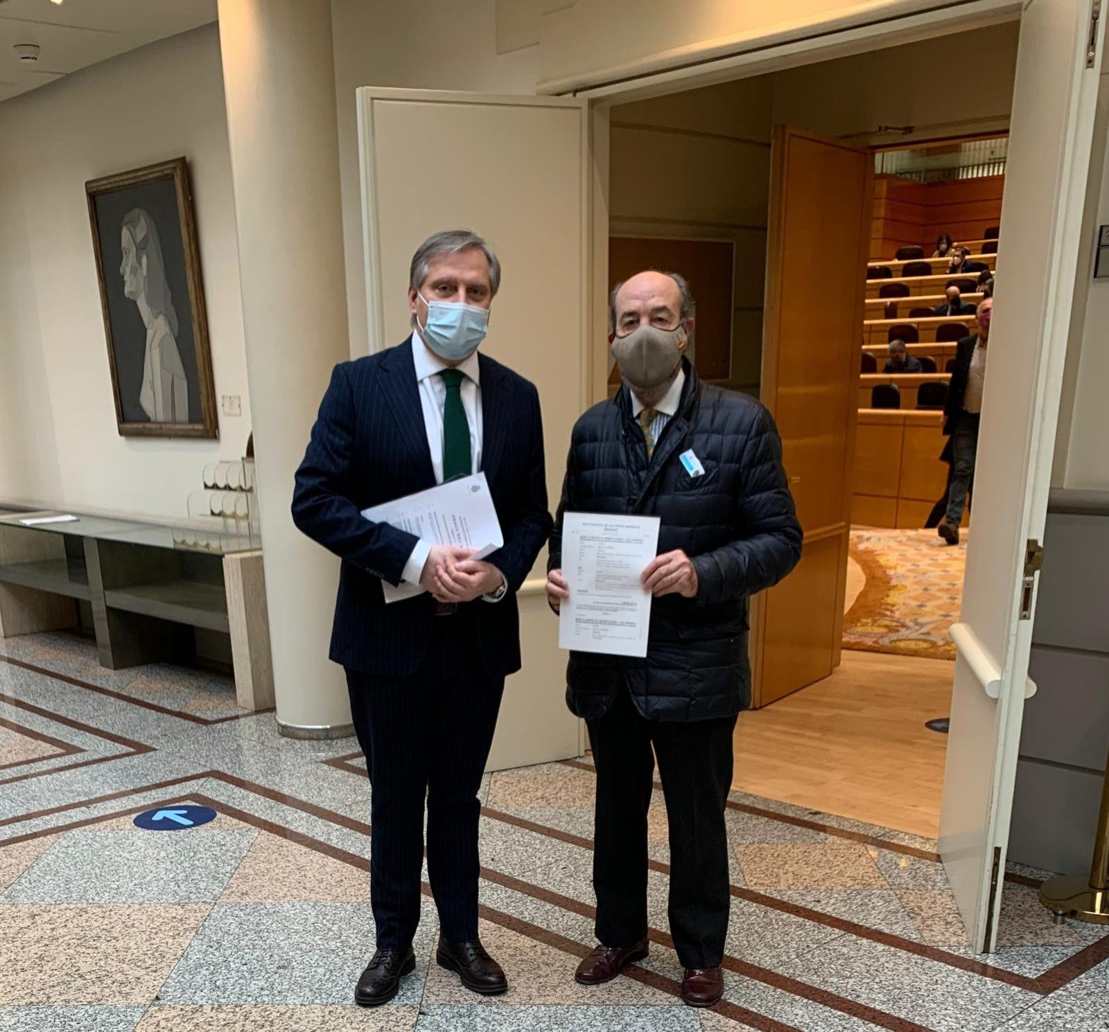 Cañizares lleva al Senado la enmienda presentada por el PP a los PGE para abastecer de agua y saneamiento a Las Virtudes