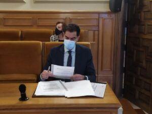 """Cs logra un compromiso """"firme y por escrito"""" de la Diputación de Toledo para incrementar las ayudas a Banco de Alimentos, Cruz Roja y Cáritas"""