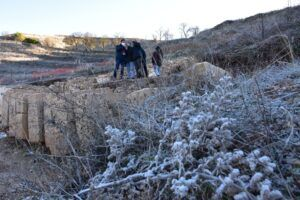 La Diputación de Cuenca invertirá 170.000 euros para cubrir y poner en valor los mosaicos de las termas en Valeria