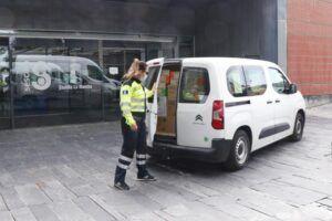 El Gobierno de Castilla-La Mancha ha distribuido esta semana cerca de medio millón de artículos de protección para profesionales sanitarios
