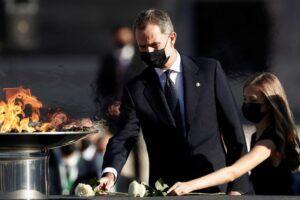 """El Rey recuerda """"con emoción y respeto"""" a todos los fallecidos por la pandemia"""