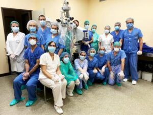 El Servicio de Oftalmología del Hospital Mancha Centro, reconocido con dos premios por una de las sociedades científicas más importantes de España