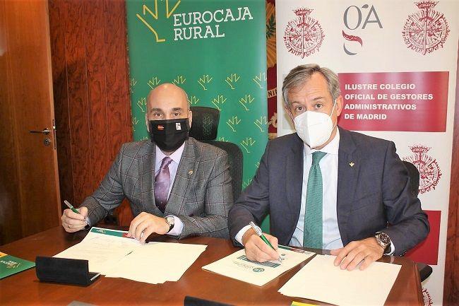 Eurocaja Rural llega a un acuerdo con el ICOGAM para fomentar la financiación y creación de empresas en la Comunidad de Madrid