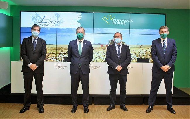 Eurocaja Rural reafirma su respaldo a la Lonja Agropecuaria de Toledo