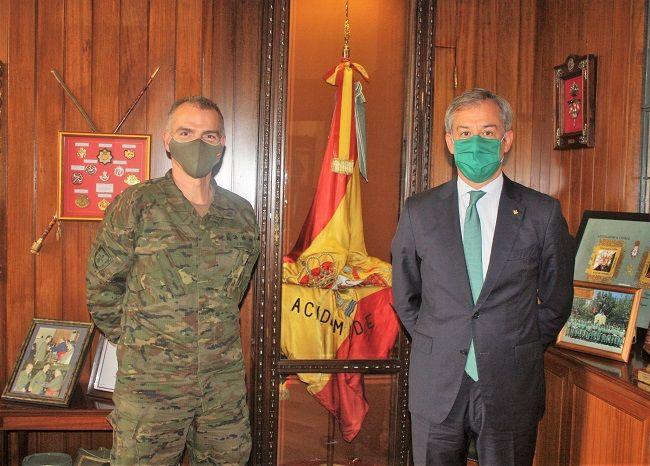 Eurocaja Rural visita la Academia de Infantería y felicita al Arma con motivo de su patrona