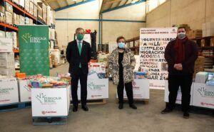 Eurocaja Rural colabora con Cáritas Diocesana de Toledo en su nueva campaña navideña de recogida de alimentos