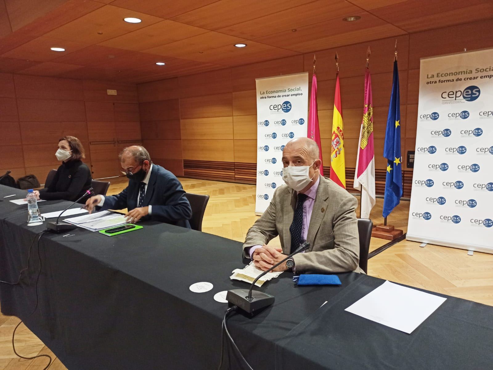 Toledo acoge como capital europea de la Economía Social el encuentro de la confederación empresarial española del sector