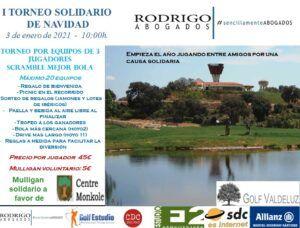 Este domingo se celebra el I Torneo Solidario de Navidad de Rodrigo Abogados