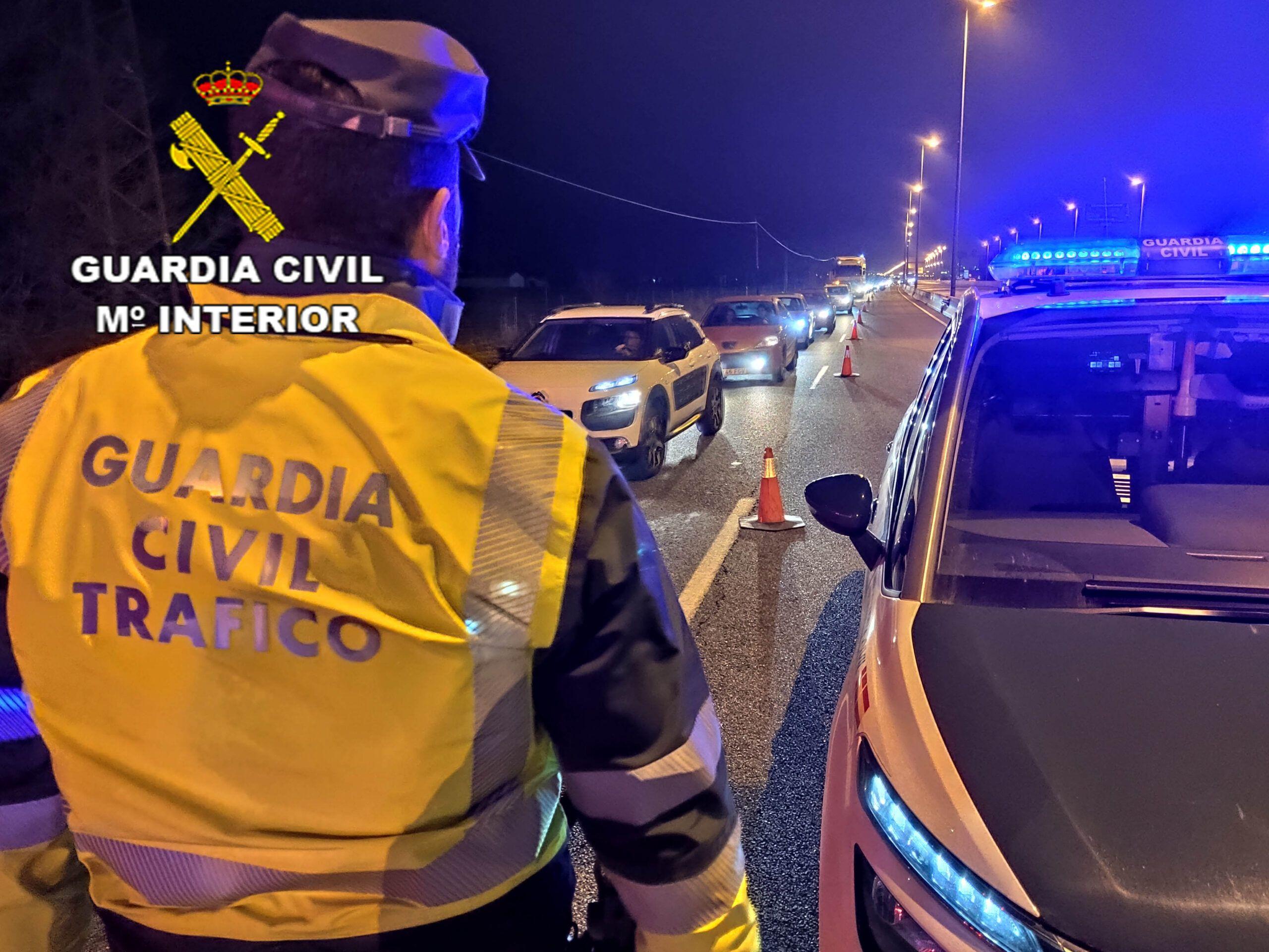 La Guardia Civil investiga a un conductor como presunto autor de un delito de homicidio por imprudencia grave