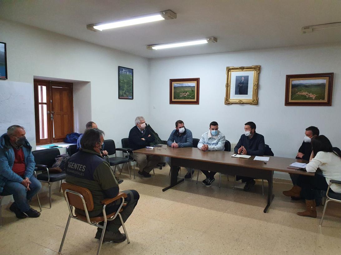 El Gobierno de Castilla-La Mancha adecua y mejora diferentes infraestructuras del Parque Natural de la Sierra Norte de Guadalajara para impulsar un turismo sostenible