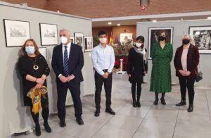 Vega inaugura la exposición de los premios Provincia de Guadalajara de Dibujo y Fotografía 2020