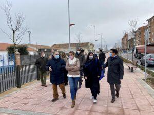 La alcaldesa inaugura el bulevar del paseo de la Rosa y anuncia su continuidad hasta la confluencia con el paseo de Don Vicente