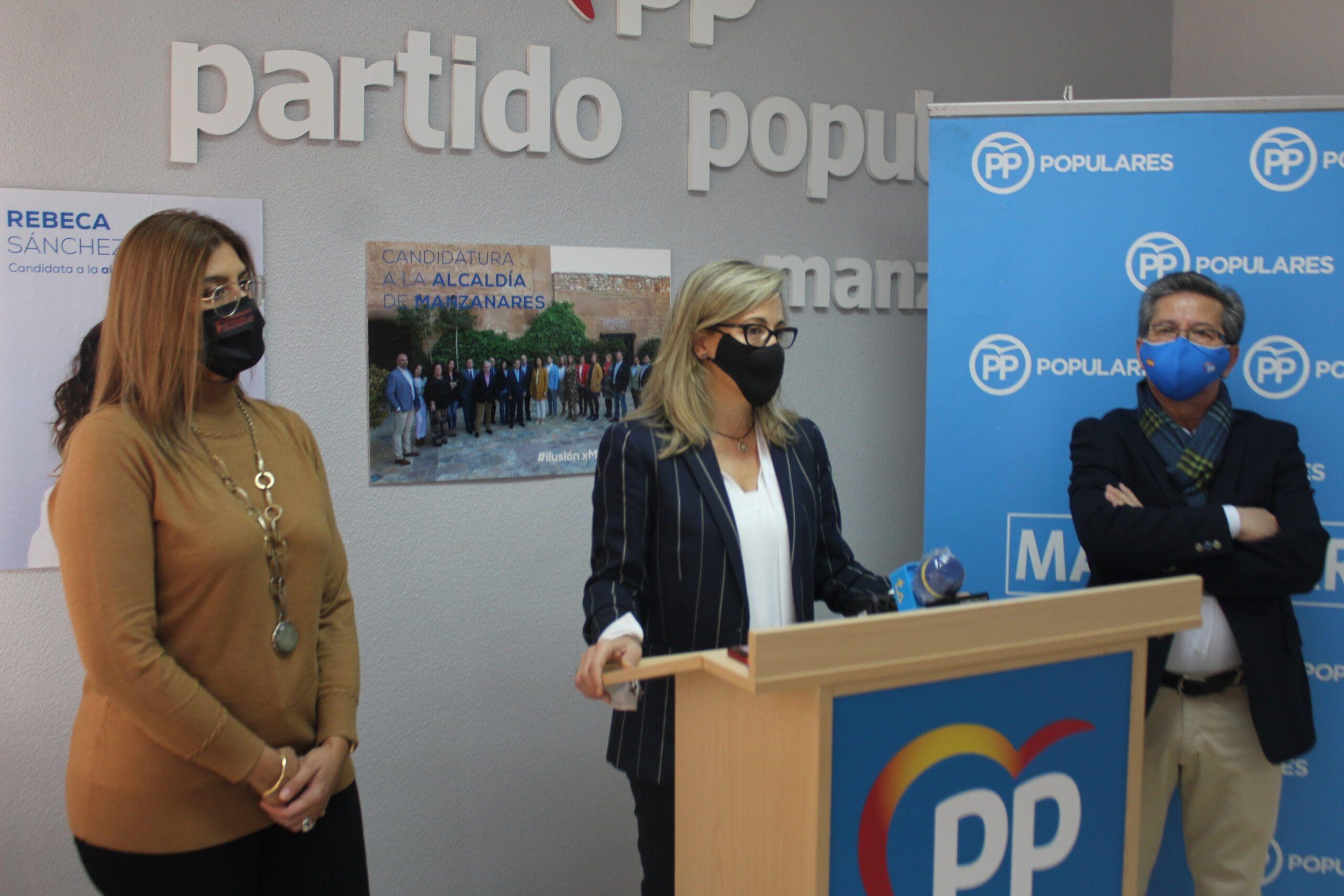 Merino exige a Page que vote a favor de las enmiendas populares para que sean una realidad el Centro de Salud y la UCI para el Hospital de Manzanares