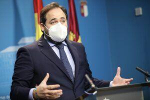 """Núñez advierte al PSOE que los castellano-manchegos están por encima de todo para el PP: """"Independientemente de sus insultos, seguiré trasladando las propuestas de la calle al Gobierno de Page"""""""