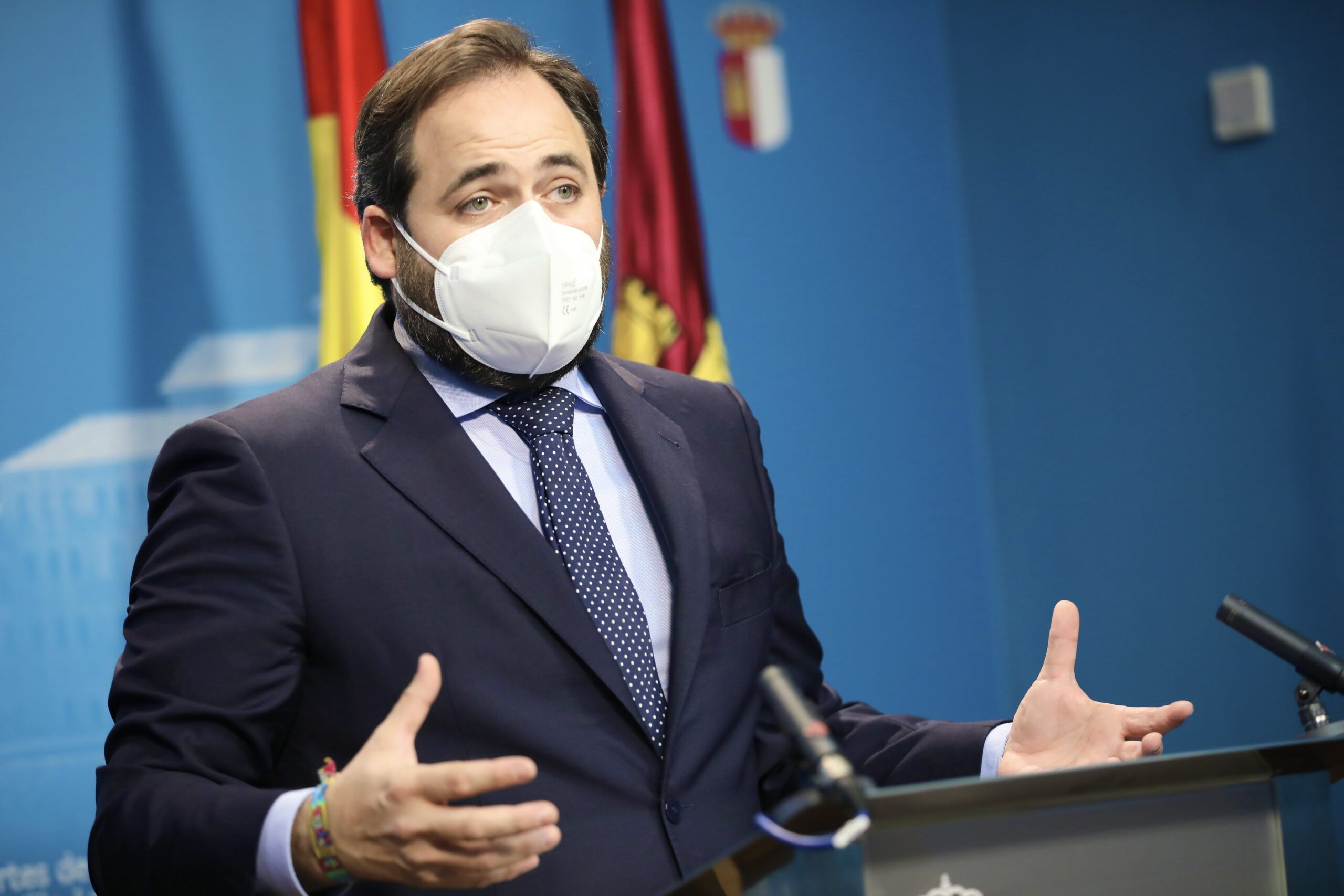 Núñez reta a Page a que los parlamentarios de PP y PSOE firmen un documento conjunto contra los indultos a los independentistas catalanes