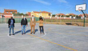 Palomeque amplía sus instalaciones deportivas con el apoyo de la Diputación de Toledo