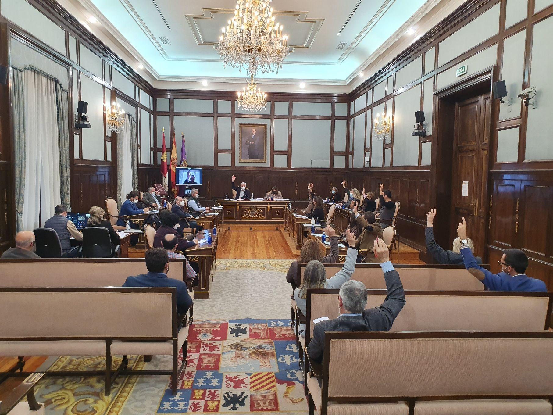 El pleno de la Diputación de Guadalajara aprueba el proyecto de presupuesto general para 2021