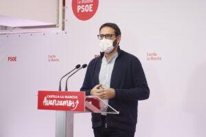 """Gutiérrez a Núñez: """"Su receta es la que ya conocemos de Cospedal, bajar impuestos a los que más tienen y recorte de servicios públicos"""""""