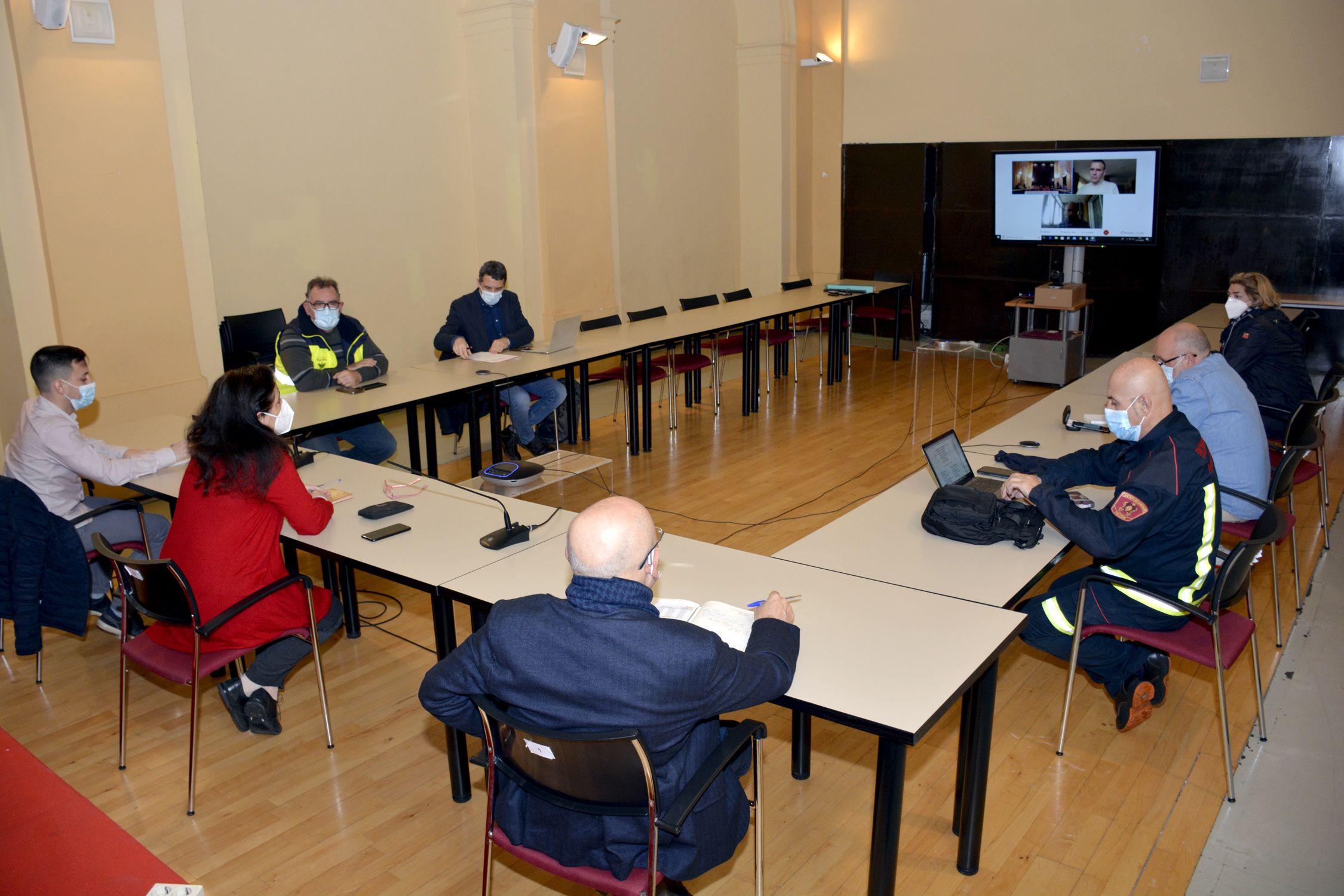 El Comité de Salud Laboral informa las medidas adoptadas para garantizar la seguridad frente a la Covid-19 en el Ayuntamiento