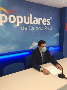 """Valverde: """" El Gobierno de Page no quiere llegar a ningún acuerdo presupuestario con el PP , dando la espalda al consenso que está pidiendo la sociedad """""""