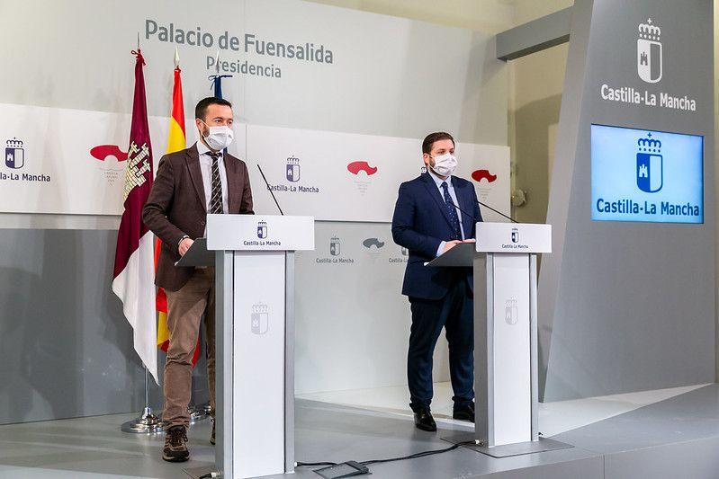 El Gobierno de Castilla-La Mancha realiza cerca de 400 actuaciones a través del Plan Infocam para mitigar los efectos del temporal causado por la borrasca Filomena
