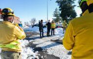 El Gobierno de Castilla-La Mancha ha realizado más de 150 actuaciones a través de los servicios del Plan Infocam para mitigar los efectos del temporal Filomena en Toledo capital