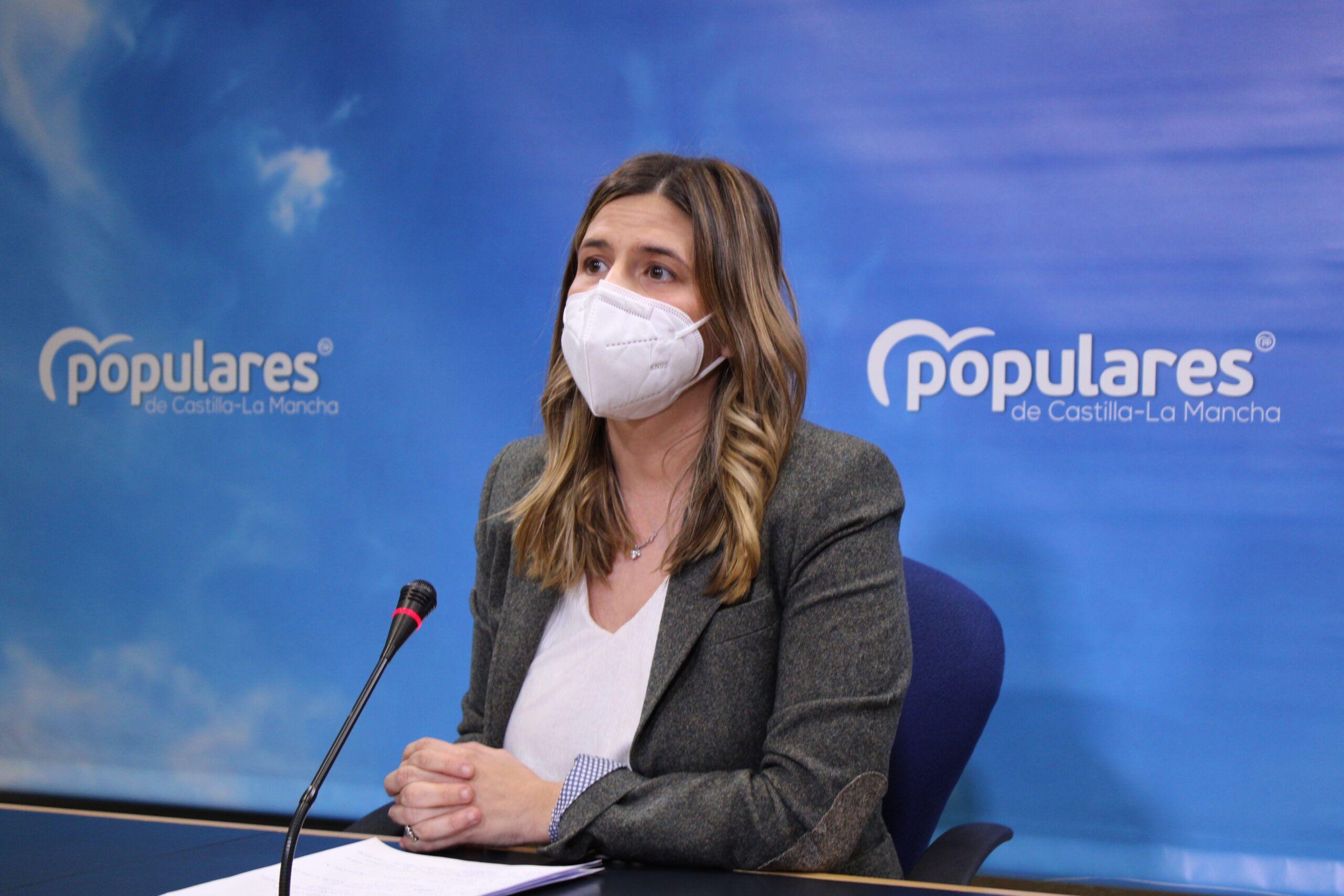 """Agudo critica la actitud """"miserable"""" del PSOE de Page al comparar la sede de un partido político con el Hospital de Toledo"""