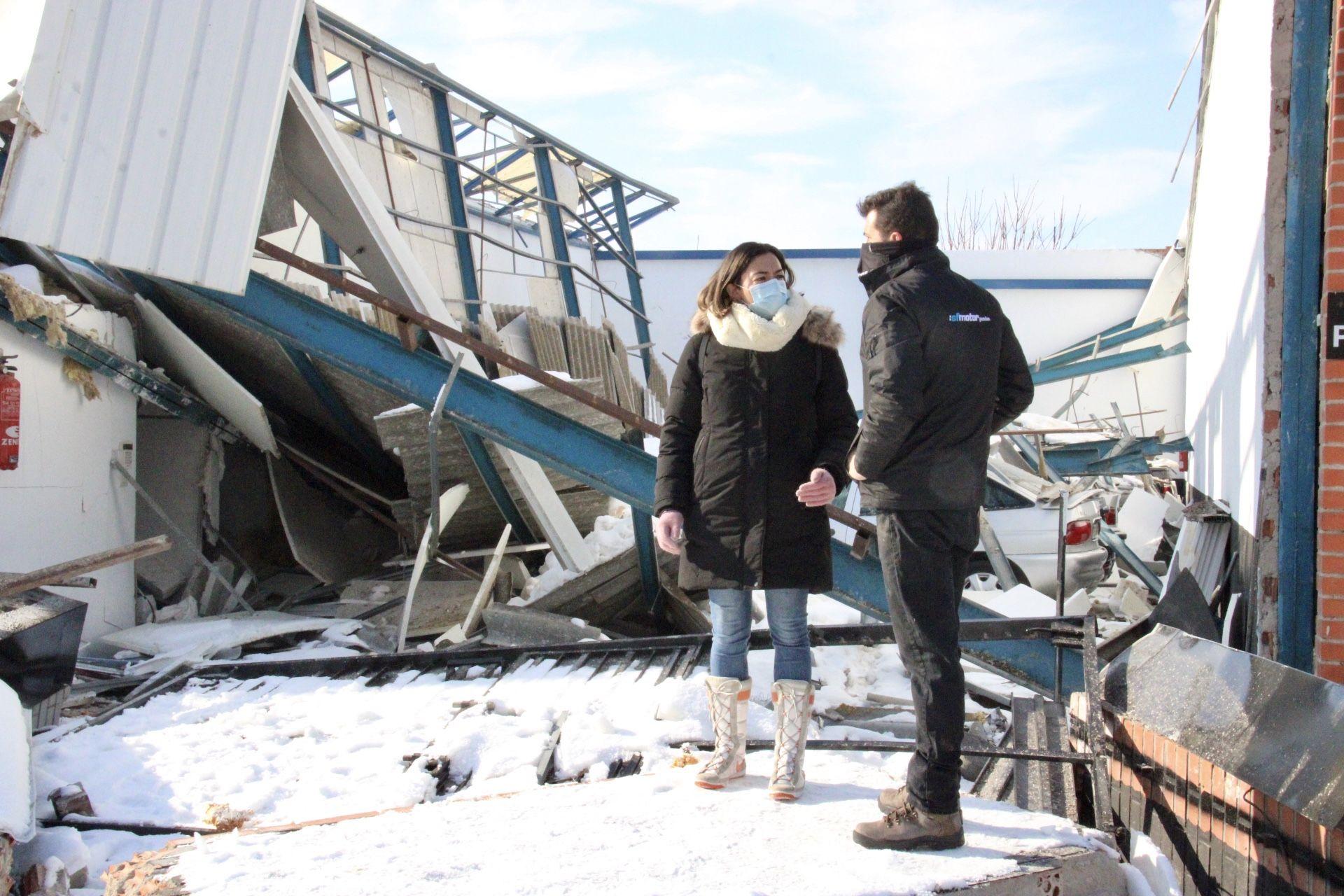 Alonso insta al Ayuntamiento a solicitar ya la declaración de la ciudad como zona catastrófica