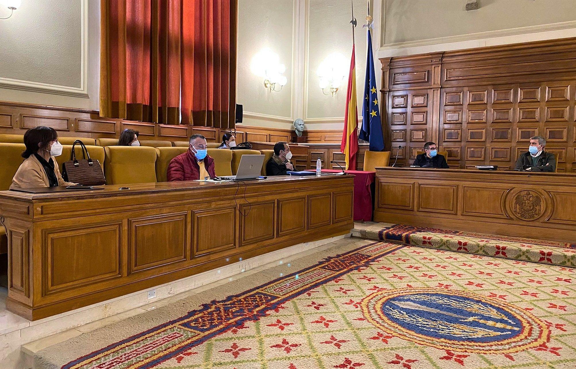 """Los ayuntamientos pueden solicitar desde hoy las ayudas extraordinarias de la Diputación por el temporal """"filomena"""""""