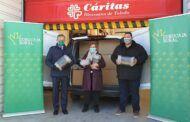 Eurocaja Rural entrega a Cáritas Diocesana de Toledo más de 200 mantas para personas sin hogar y familias