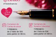 Ayuntamiento y Libreros convocan el I Certamen de Cartas de Amor y Sonetos Literarios con motivo de San Valentín
