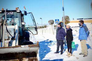 Cs Guadalajara pide a la ciudadanía prudencia ante los posibles desprendimientos de nieve y aseguran que la ciudad da pasos para recuperar la normalidad
