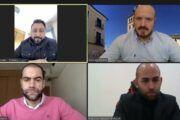 Comendador escucha las inquietudes de los gerentes de Delivery Toledo y Bolozon y anima a utilizar las plataformas online de reparto a domicilio de nuestra provincia