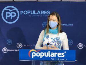 Delgado reclama al equipo de Gobierno que se sume al PP y reclame a la Junta medidas efectivas para frenar el avance del virus