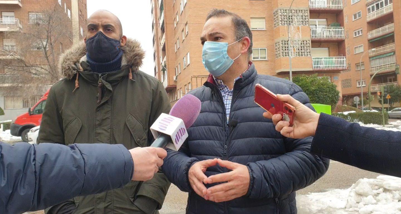El Grupo Popular propone un plan específico de arreglo de desperfectos en calles y parques por el temporal 'Filomena'
