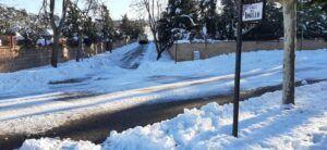 Las incidencias por la situación meteorológica se reducen y se centran, principalmente, en la presencia de nieve y hielo