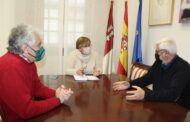El Gobierno de Castilla-La Mancha se interesa por los proyectos que realiza la Fundación Fuente Agraria de Puertollano