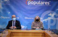 """El PP-CLM acusa a Page abandonar a los sectores más perjudicados por la pandemia: """"Están heridos de muerte, necesitan ser rescatados de manera urgente"""""""