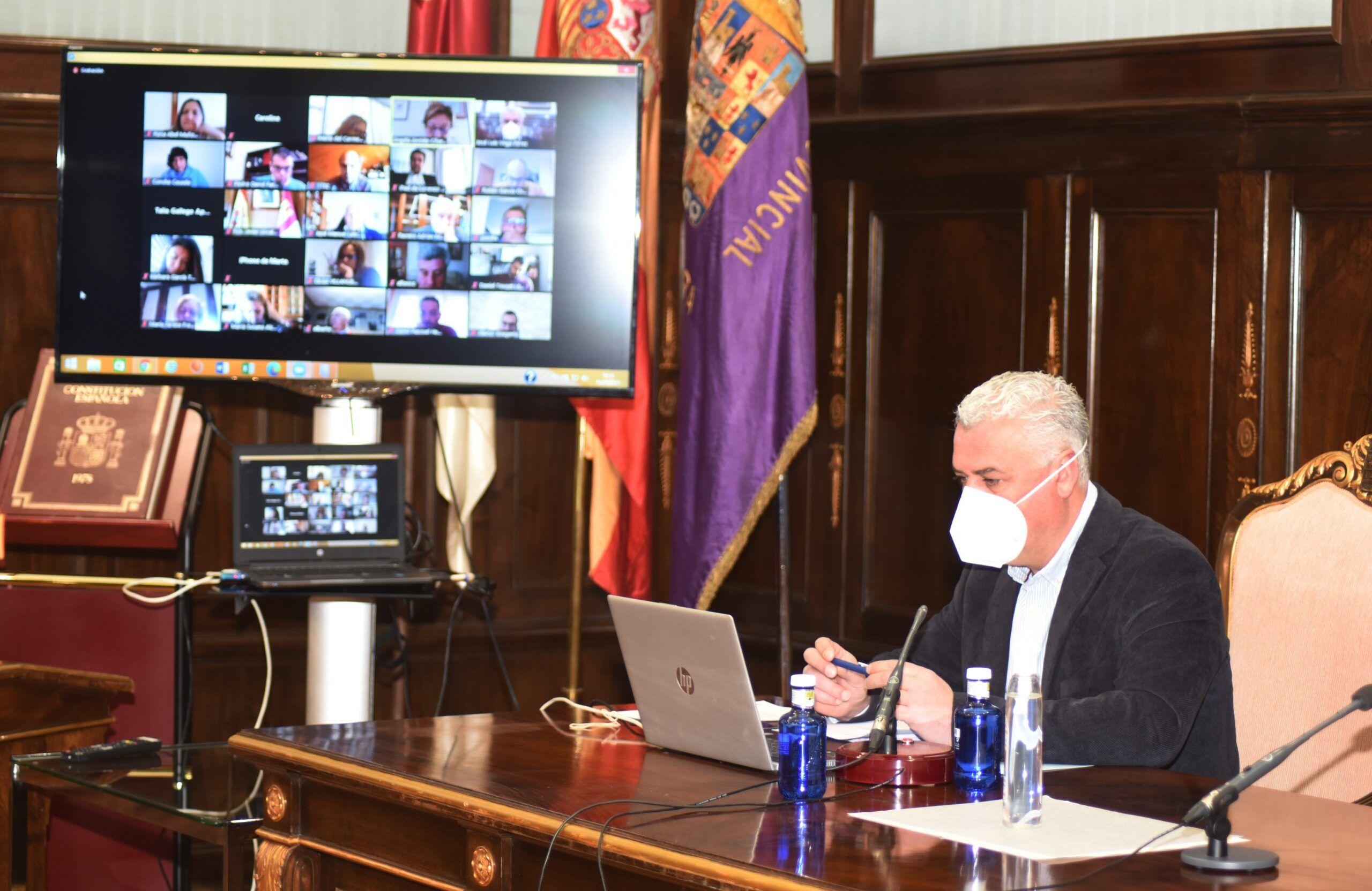 La Diputación apoya a los municipios que pidan ser declarados zona catastrófica por 'Filomena'