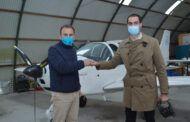 Comendador respalda el proyecto para convertir el aeródromo toledano de Casarrubios en el segundo aeropuerto de Madrid