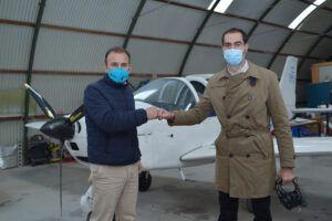 Comendador respalda el proyecto para convertir el aeródromo toleda no de Casarrubios en el segundo aeropuerto de Madrid