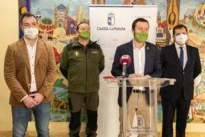 El Gobierno de Castilla-La Mancha evalúa los daños causados por el temporal Filomena en los montes e infraestructuras de los espacios naturales de la región