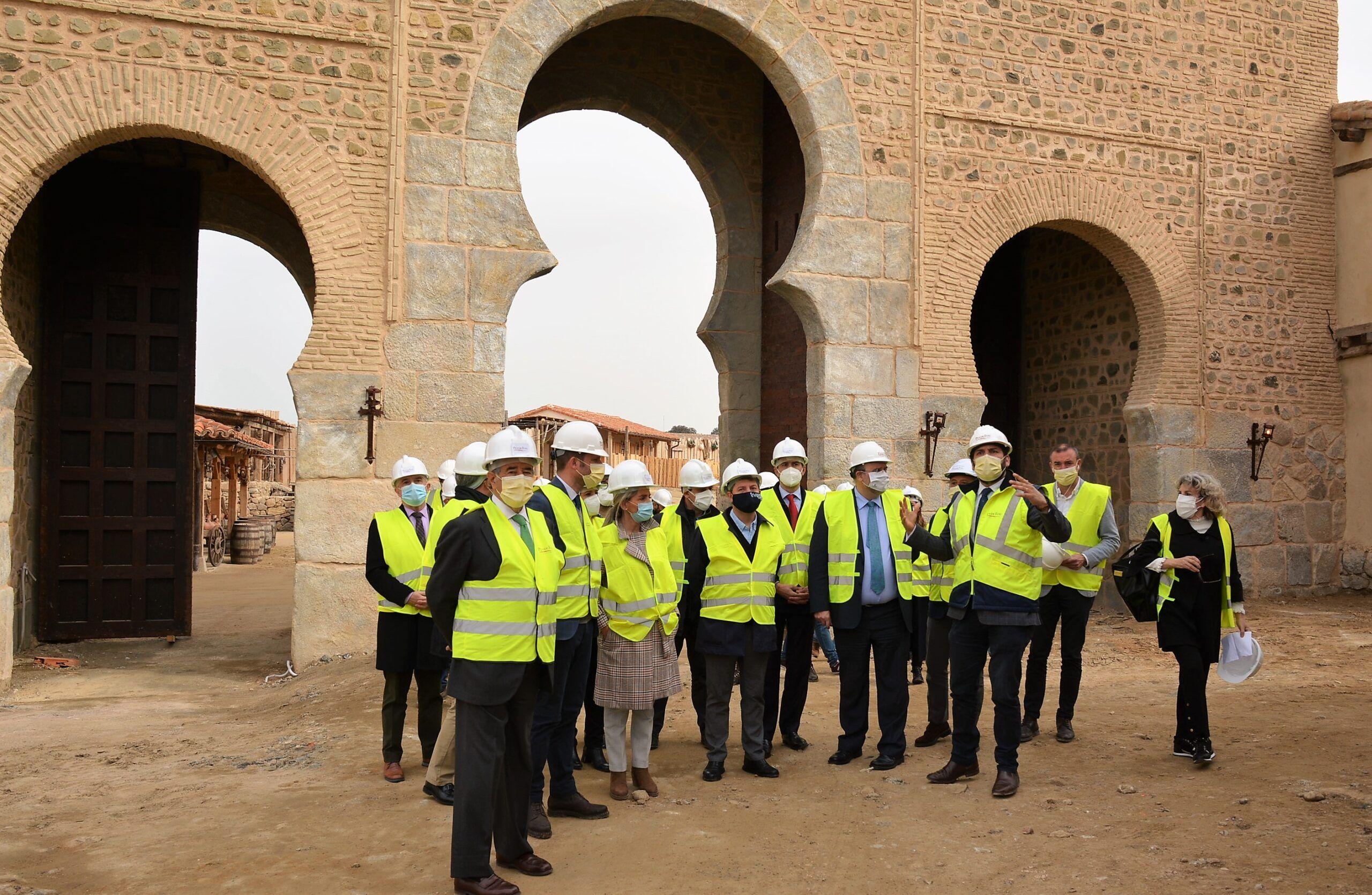 Álvaro Gutiérrez resalta la oportunidad económica y de empleo de Puy du Fou España para la provincia de Toledo