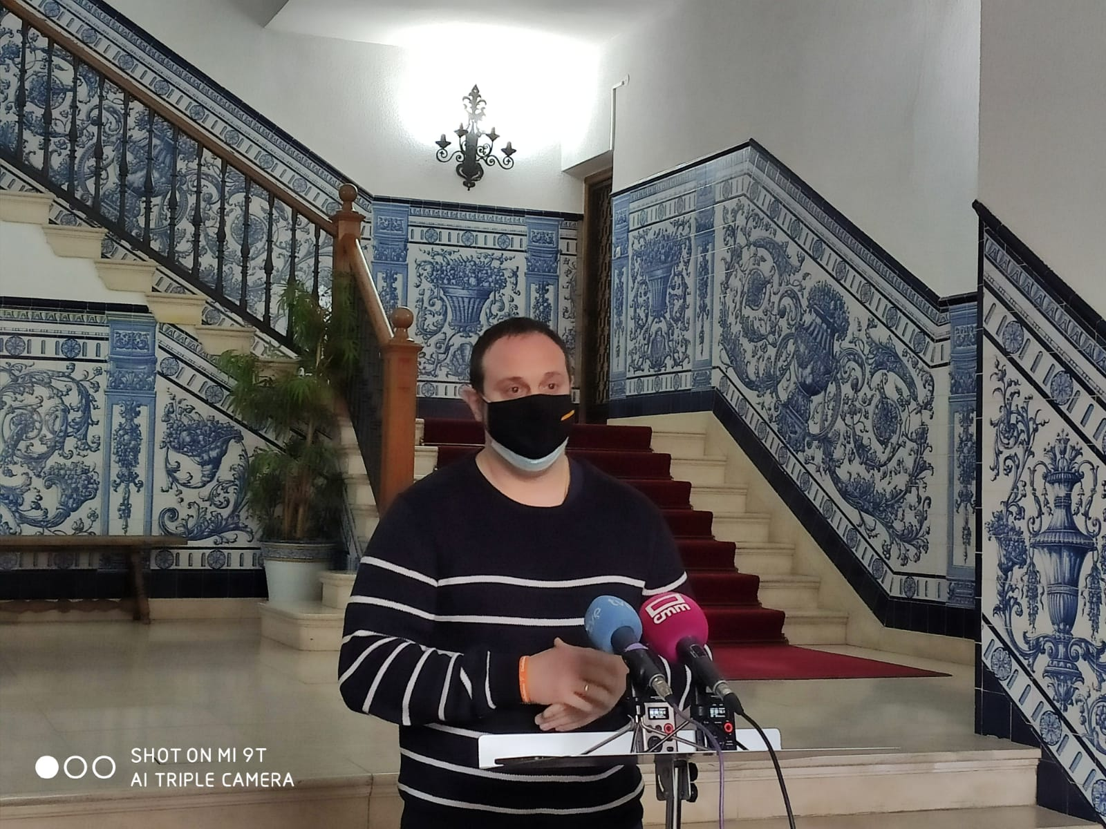 Cs Talavera destaca el acuerdo entre partidos y pide a Élnez implicarse eficazmente para conseguir el soterramiento del AVE
