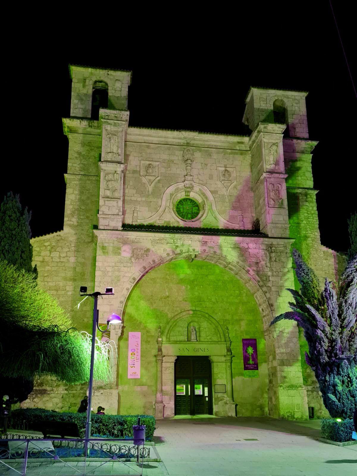 San Ginés se iluminará de verde desde esta tarde y durante todo el fin de semana con motivo del Día Mundial de las Enfermedades Raras