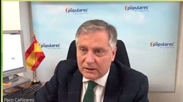 """Cañizares advierte que el `escudo social´ del que presume Sánchez y Page es el de """"abrasar"""" a impuestos a los ciudadanos y subir el recibo de la luz"""
